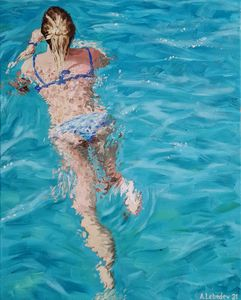 Swimmer II - Anthony Lebedev