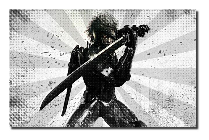 Metal Gear Rising Canvas Art(A1). - David Gilkes