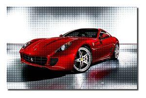 Ferrari Canvas Art, size A1 NEW!