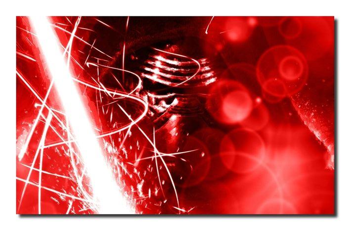 Star Wars-Kylo Ren Canvas Picture! - David Gilkes