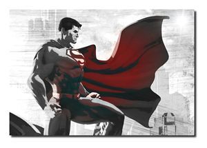 Superman Inspired Canvas Art!