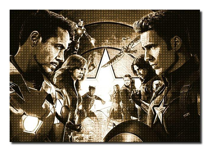 Captain America-Civil War Inspired - David Gilkes
