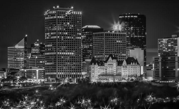 Edmonton Skyline close up - Eduardo Tavares Photographic Art