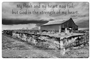 Psalms 73:26 - God is the strength