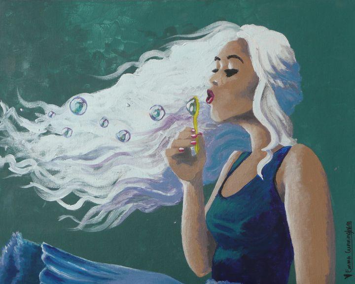 Bubble Girl - Emma Cunningham