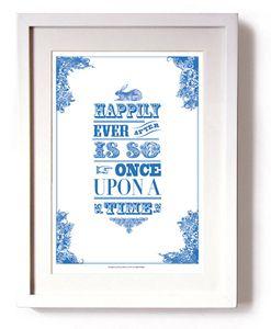 'Alice In Wonderland' Print