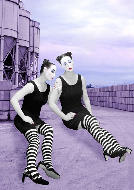 The Sadness - Self Portrait - Jaeda Artography