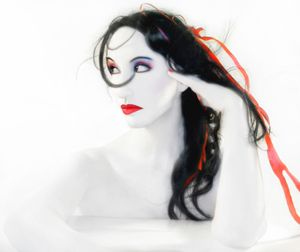 My Red Melancholy - Self Portrait