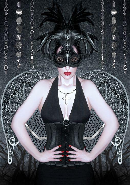 Keeper of the Night - Self Portrait - Jaeda Artography