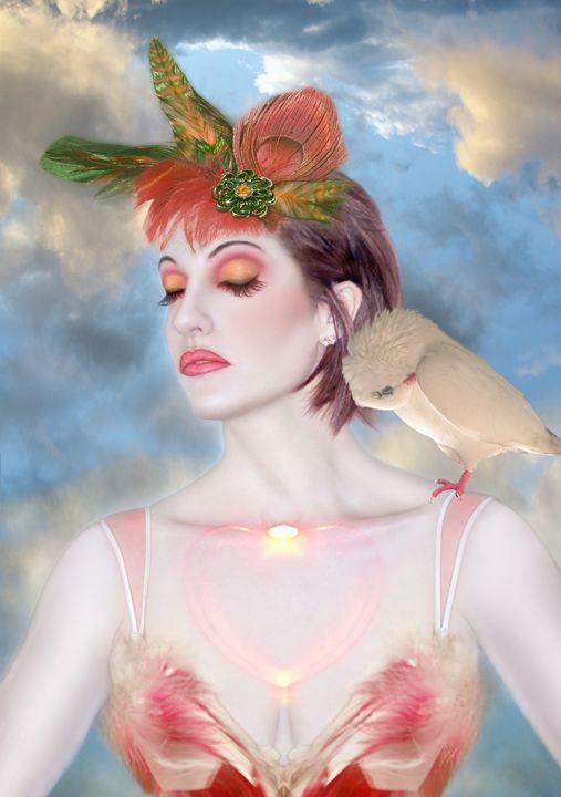 The Avian Dream - Self Portrait - Jaeda Artography