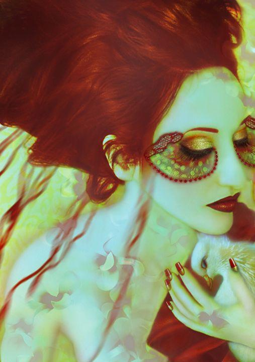 The Bleeding Dream - Self Portrait - Jaeda Artography