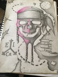 Skull map arrrr