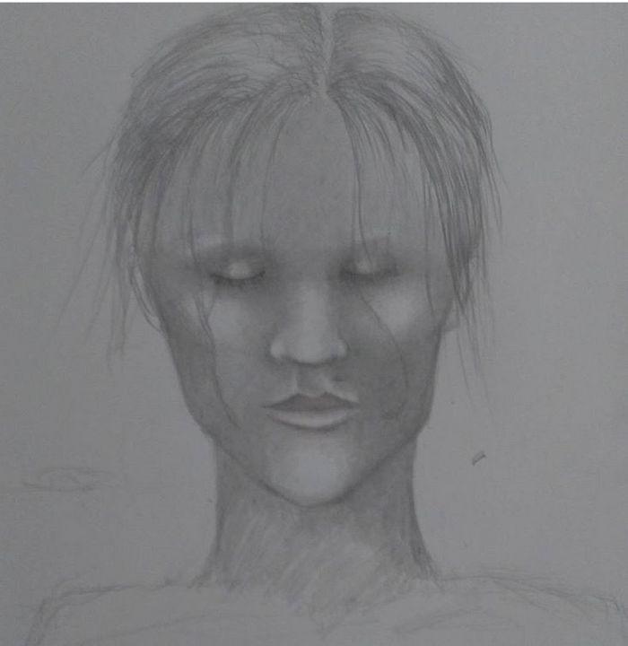 Girl sketch - corish art