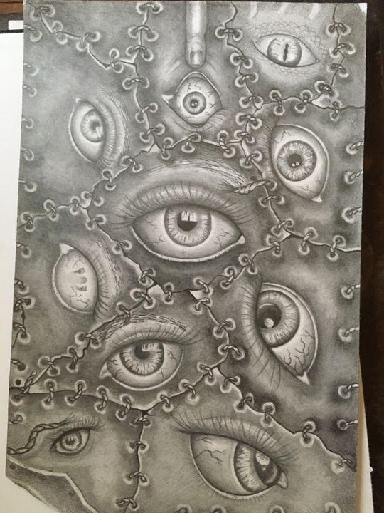 Eye eye eye - corish art