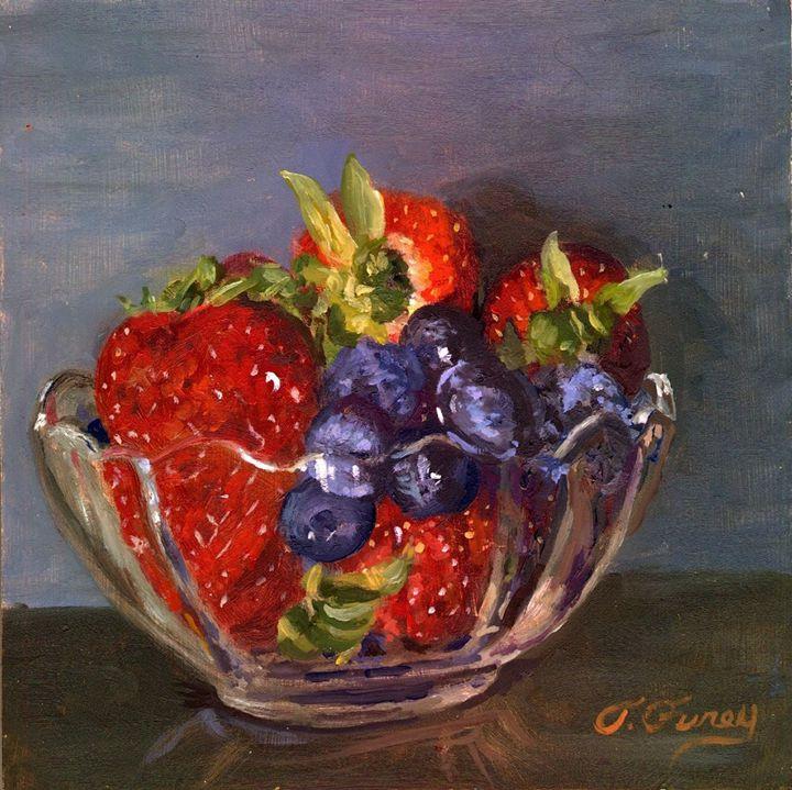 Strawberrys with Blueberrys - Tom Furey