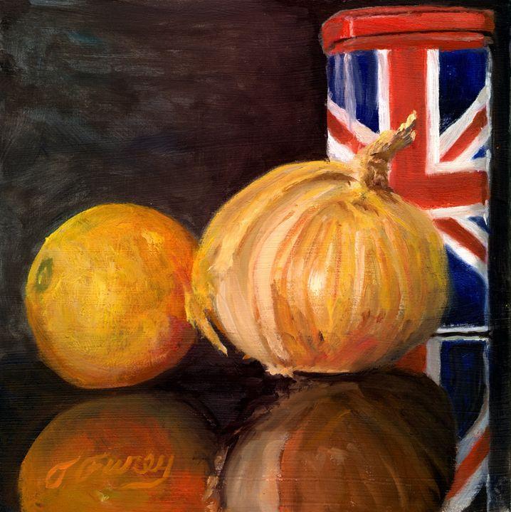 British Coffee Orange and Onion - Tom Furey