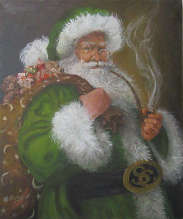 Irish Santa 2017 - Tom Furey