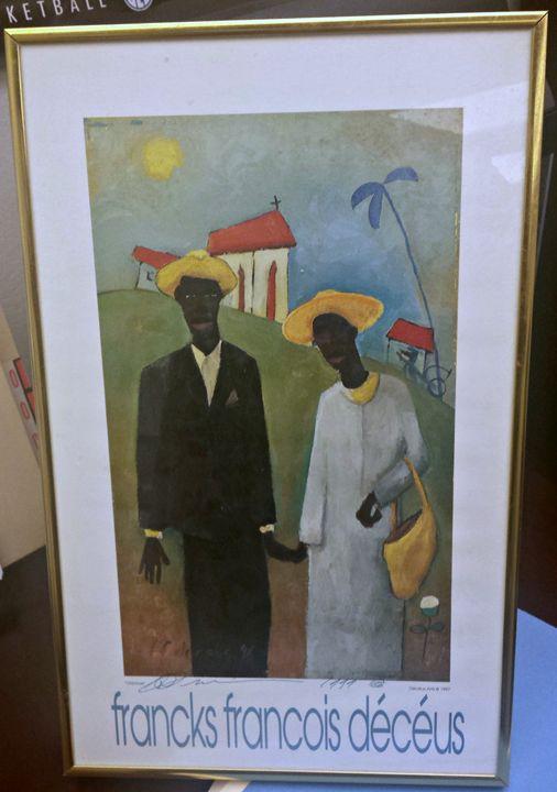 Old Love - Signed Francks Francois Deceus Art For Sale