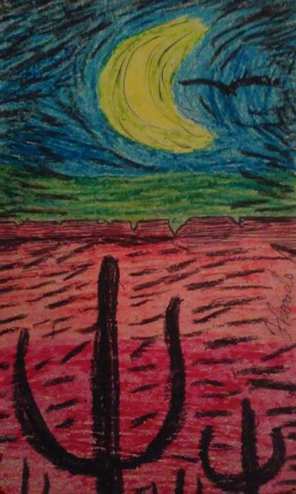 Arizonas beauty ll - FRosado original-unique Art