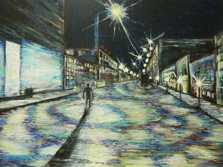 Back in Town - Derek Johnson Art Gallery