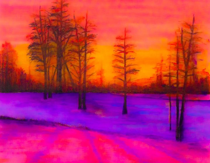 Winter Silence - Derek Johnson Art Gallery