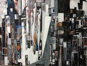 Acrylic on canvas130X 130 cm