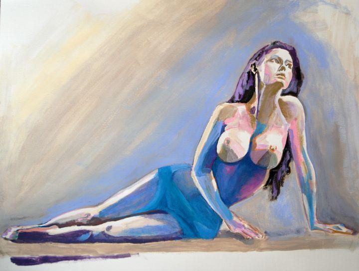 Nude #4 / 65 x 50 cm (2019) - Alexandra Djokic