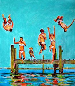 Jump / 72 x 62 cm (2019)