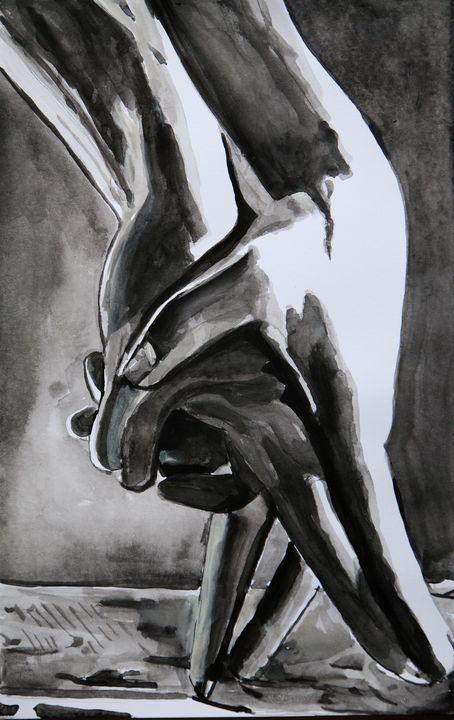 Dance with me ! / 37,7 x 24 cm - Alexandra Djokic