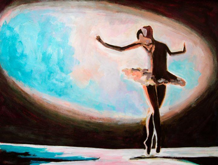 Ballerina / 72 x 54.4 cm (2019) - Alexandra Djokic