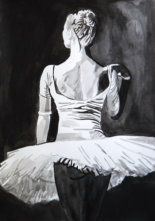 Ballerina ID#2 / 42 X 29.7 cm (2019) - Alexandra Djokic