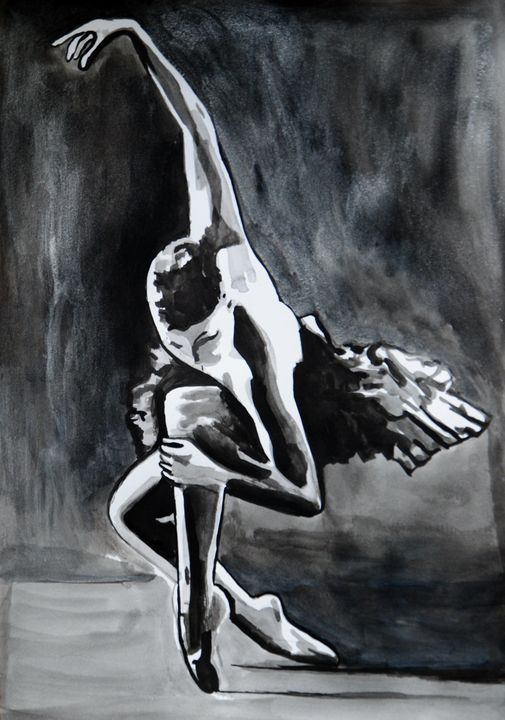 Ballerina ID #3 / 42 X 29.7 cm (2019 - Alexandra Djokic