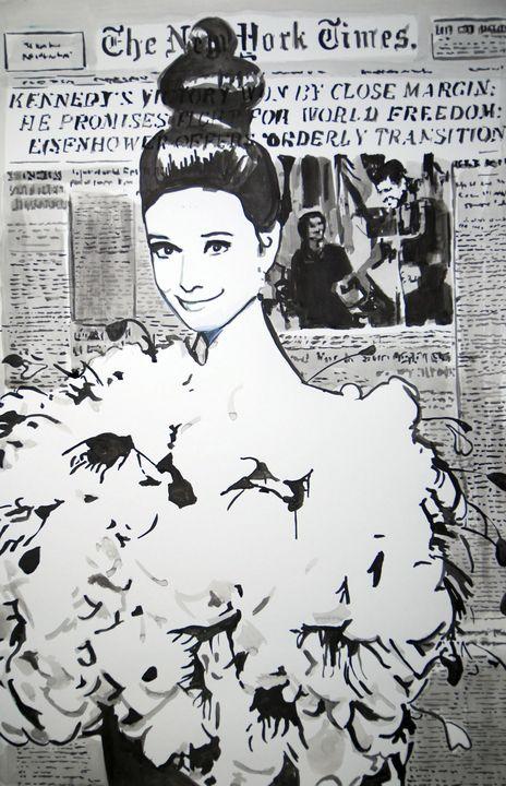 Audrey / 70 x 46 cm (2019) - Alexandra Djokic
