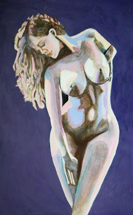 Nude 23 / 55 x 34.3 cm - Alexandra Djokic