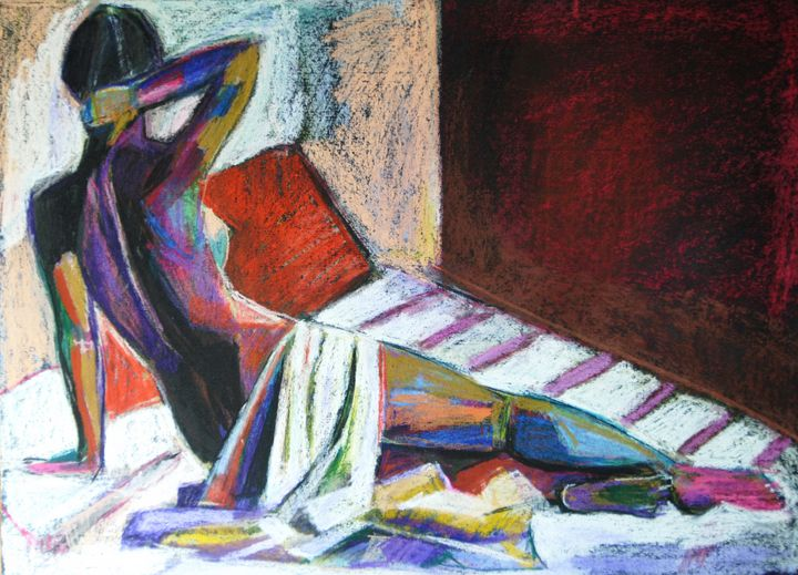 Nude #142 / 50 x 37 cm (2019) - Alexandra Djokic
