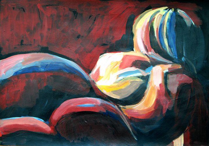 Nude # 188 / 41.7 x 29.5 cm (2019) - Alexandra Djokic