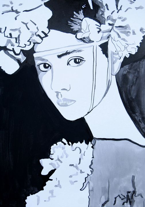 Lotus / 42 x 29.7 cm (2019) - Alexandra Djokic