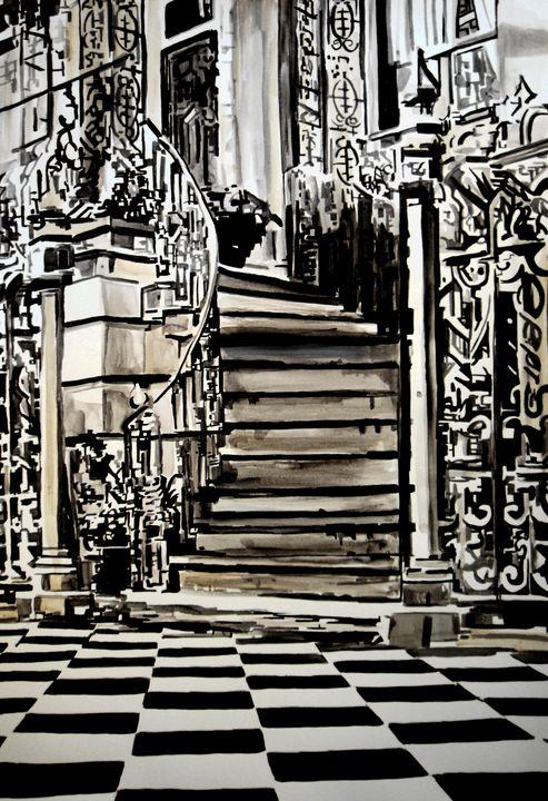 Hidden Place / 72 X 50 cm - Alexandra Djokic