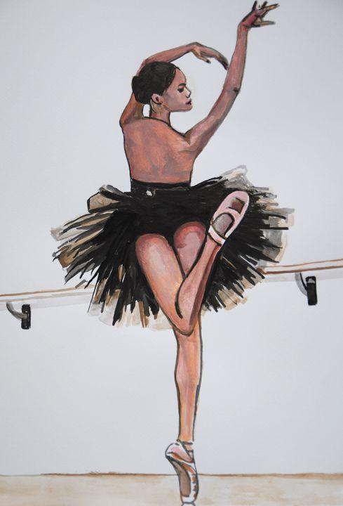 Ballerina / 51 x 36 cm - Alexandra Djokic