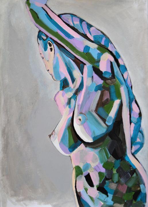 Nude 21 / 42 x 29.7 cm - Alexandra Djokic