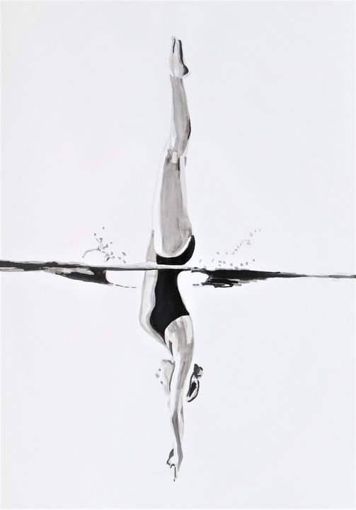 Jump / 49,5 x 35 cm - Alexandra Djokic