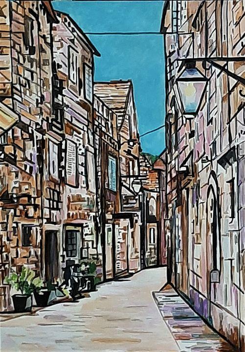Street / 72 x 50 cm - Alexandra Djokic