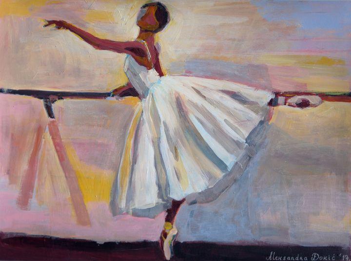 Ballerina / 40 x 29.5 cm - Alexandra Djokic