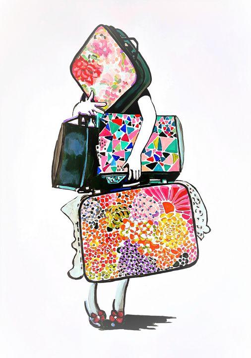 Traveler / 102 x 72 cm - Alexandra Djokic