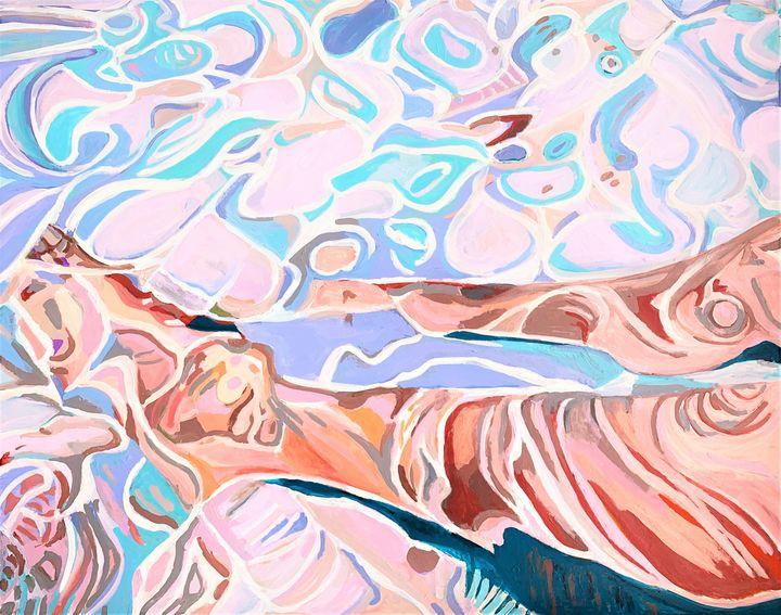 Underwater / 90 x 71 cm - Alexandra Djokic