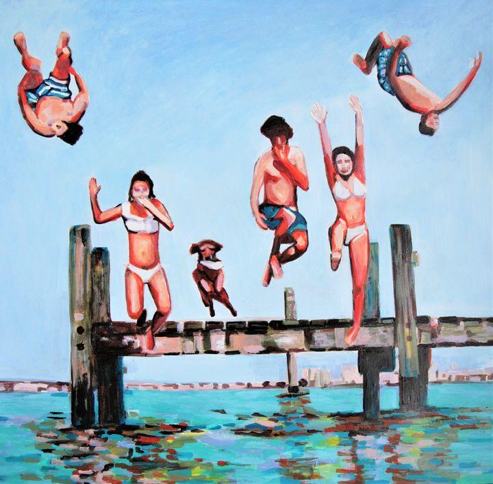 Jump / 73.5 X 70 cm - Alexandra Djokic