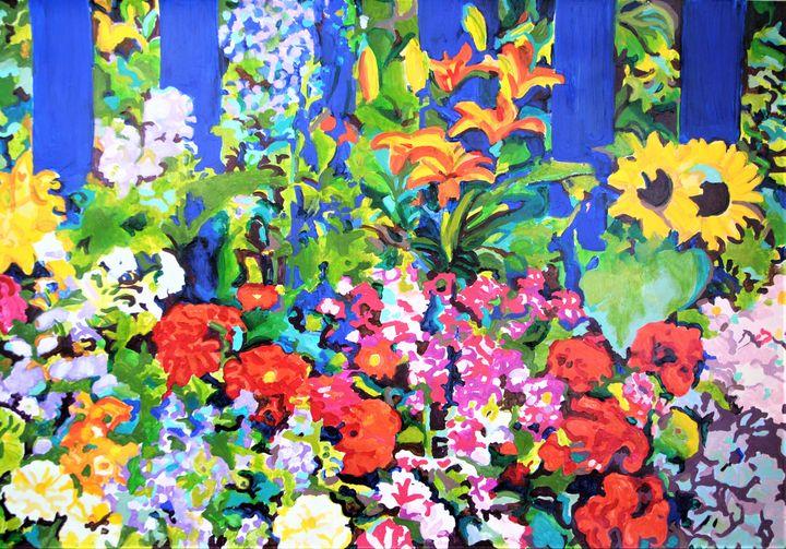 Summer Garden / 100 x 70 cm - Alexandra Djokic