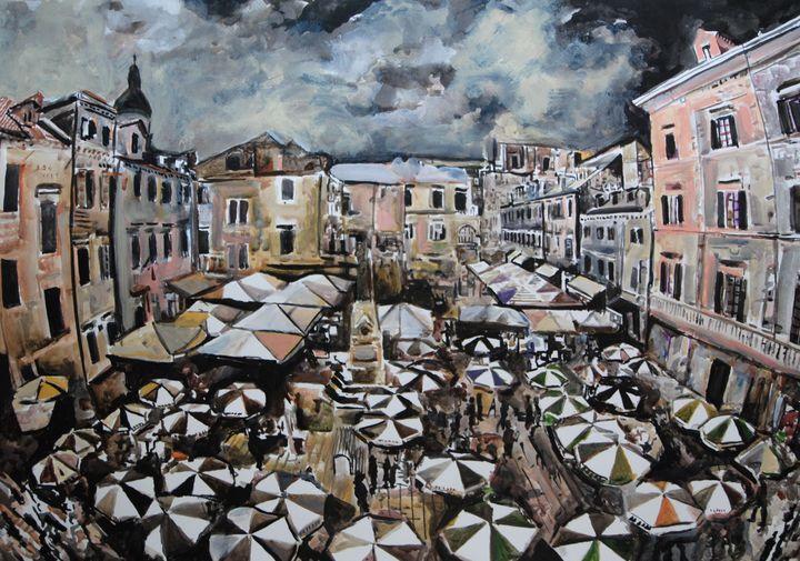 Dubrovnik / 72 x 50,8 cm (2019) - Alexandra Djokic