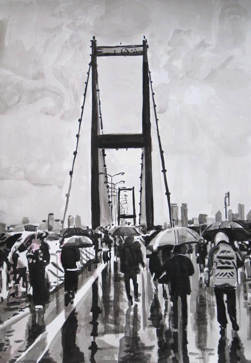 Rainy Day ID / 71.7 x 49.7 cm (2019) - Alexandra Djokic