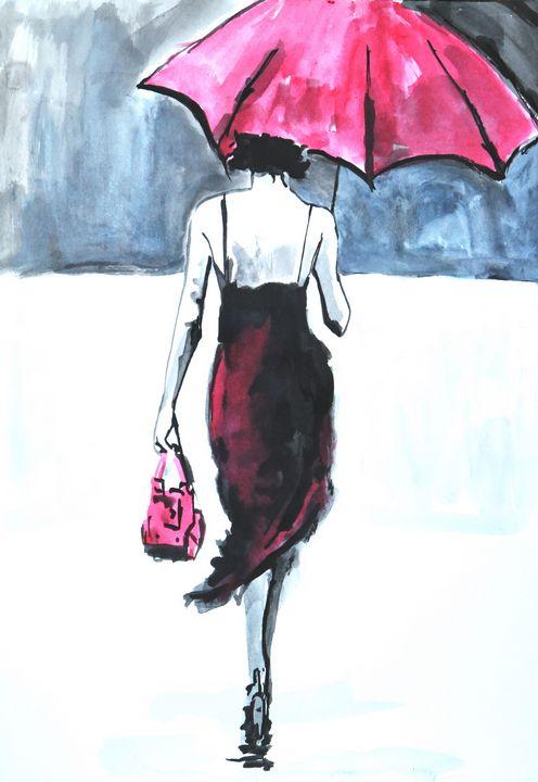 Rainy Day #1 - Alexandra Djokic
